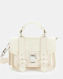 Women's Lux Leather Ps1 Micro Bag - Clay