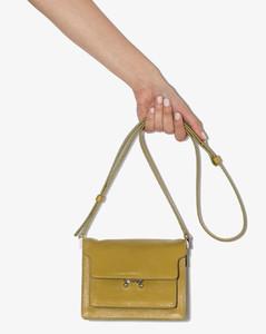 Green Trunk mini Leather Shoulder Bag