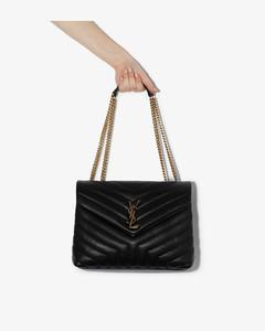 Medium Loulou Quilted Shoulder Bag