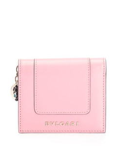 WOMEN'S 288035 PINK LEATHER WALLET