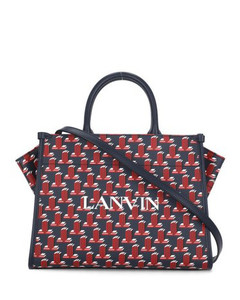 Safety Pin Small Bag In Yellow Patent Leather