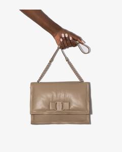 neutral Viva Bow shoulder bag