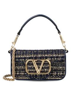 Madeline Lady MC-jacquard and leather handbag