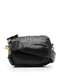 Madeline Lady MC-jacquard and leather handbag