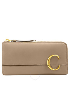 neutral 001 leather wallet chain bag