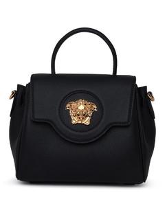 Garavani neutral Rockstud leather clutch bag