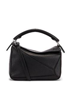 Puzzle Mini Bag in Black