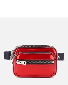 Women's Attica Soft Patent Belt Bag - Red