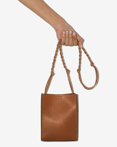 Brown Tangle small leather cross body bag
