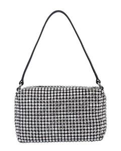 Wangloc Rhinestone Pouch Bag