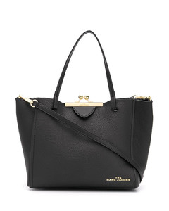top clasp tote