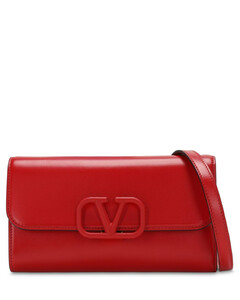 Vsling Leather Clutch