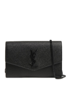 Uptown Leather Chain Wallet