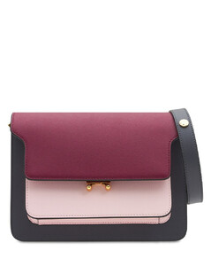 Medium Gale Saffiano Leather Trunk Bag