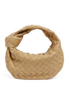 Mini Leather Jodie Top-Handle Bag