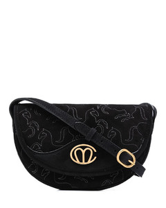 K leather clutch