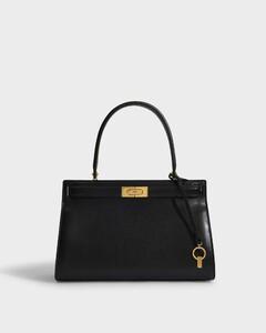 Lee Radziwill Bag in Black Calfskin