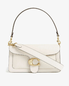 Tabby pebbled-leather shoulder bag