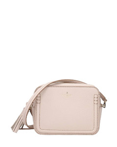 Matelasséleather shoulder bag