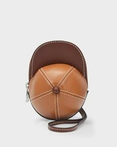 Nano Cap Bag in Brown Calfskin