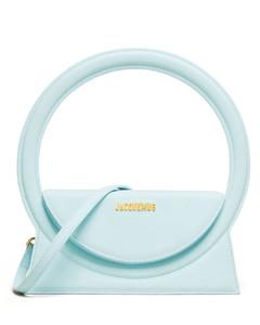 Mini black Prada Galleria bag