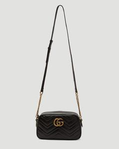 GG Marmont Shoulder Bag in Black