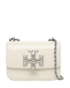 Eleanor Sm Patent Leather Shoulder Bag