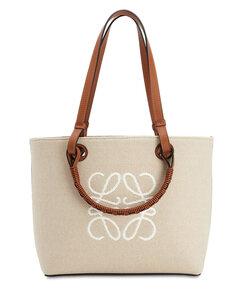 Jacquard Anagram Canvas Tote Bag
