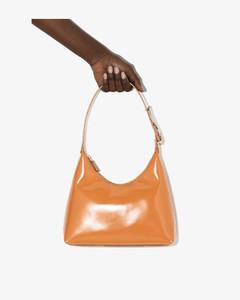 Brown Scotty Leather Shoulder Bag