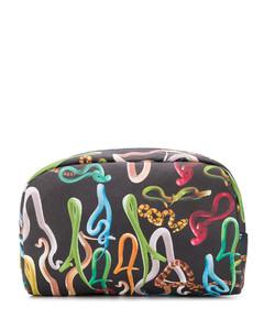 Handbag GWB00975 leather rivets gold logo black