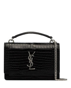 SLP BLK SUNSET MCROC SILV YSL MINI BG