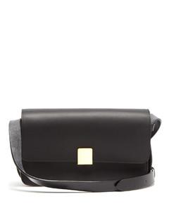 Rye leather shoulder bag