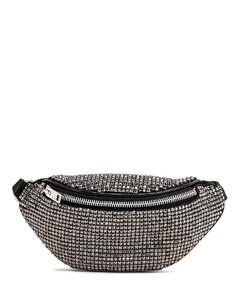Attica Soft Mini Fanny Crossbody Bag in Black