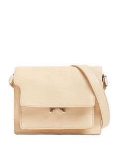 Mini Soft Trunk Smooth Leather Bag