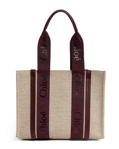 Medium Canvas Woody Tote Bag