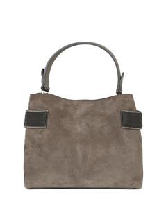 Le Chiquito Moyen shearling bag