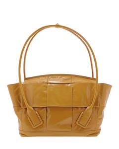 618464vcq717679 Women's Beige Leather Handbag