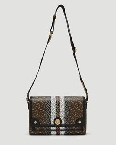 Note Monogram Stripe Crossbody Bag