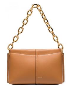 Carly Leather Shoulder Bag