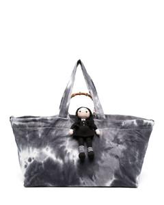 Love shoulder bag in blue