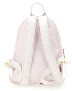 Antiqued pink leather Rockstud crossbody bag