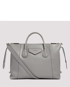 Gray Medium soft leather Antigona bag