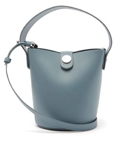 Nano Swing leather bucket bag