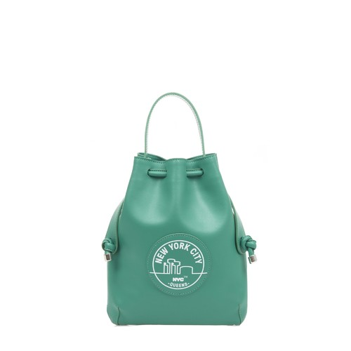 NYC Briony Mini Backpack- Queens Green