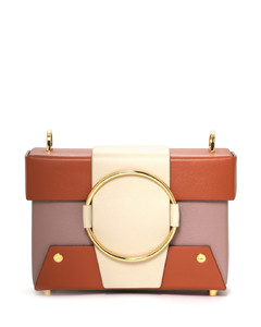 Asher leather shoulder bag