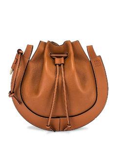 Horseshoe Bag in Brown