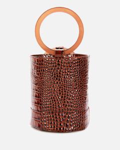 Women's Bonsai 20 Croc Bucket Bag - Cocoa