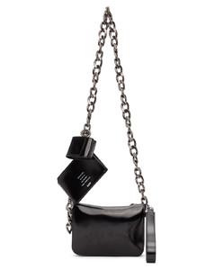 黑色链环单肩包