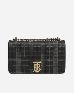 Lola quilted check leather small bag