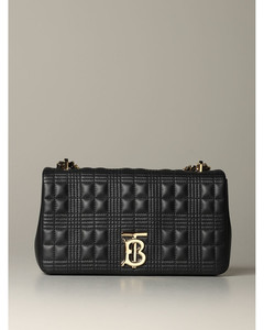Lola shoulder bag in quilted leather with TB monogram